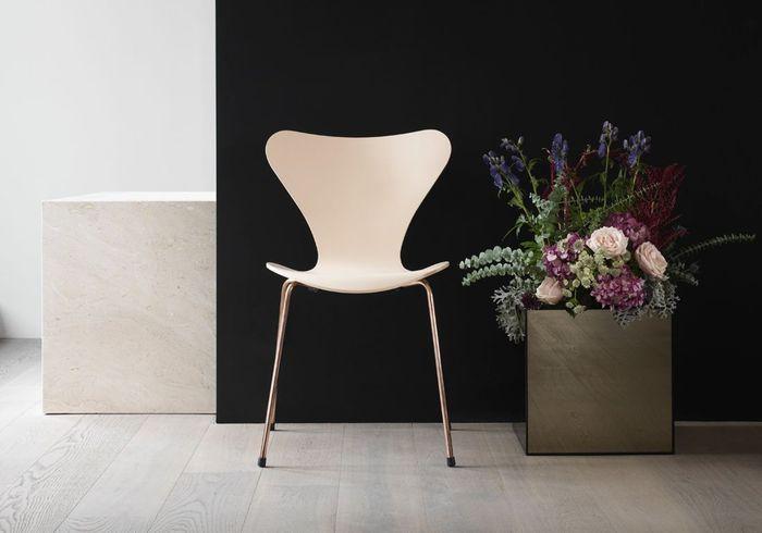 Chaise Série 7 (d'Arne Jacobsen / Fritz Hansen)