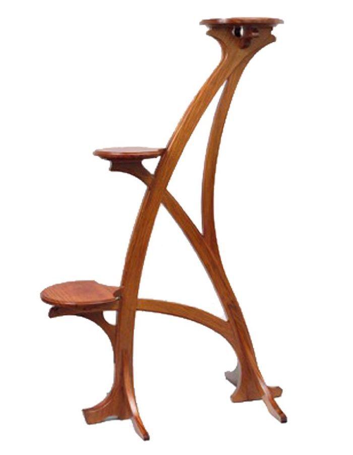 1901 : la sellette Art Nouveau de SERRURIER-BOVY