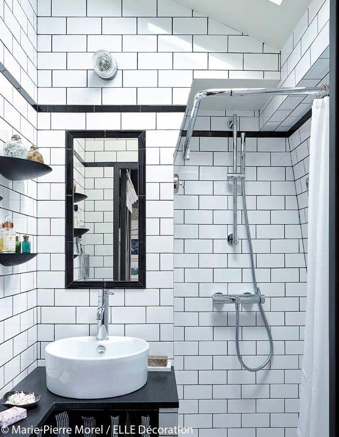 Amenagement salle de bain sous pente laine de verre touche - Salle de bain sous les toits ...