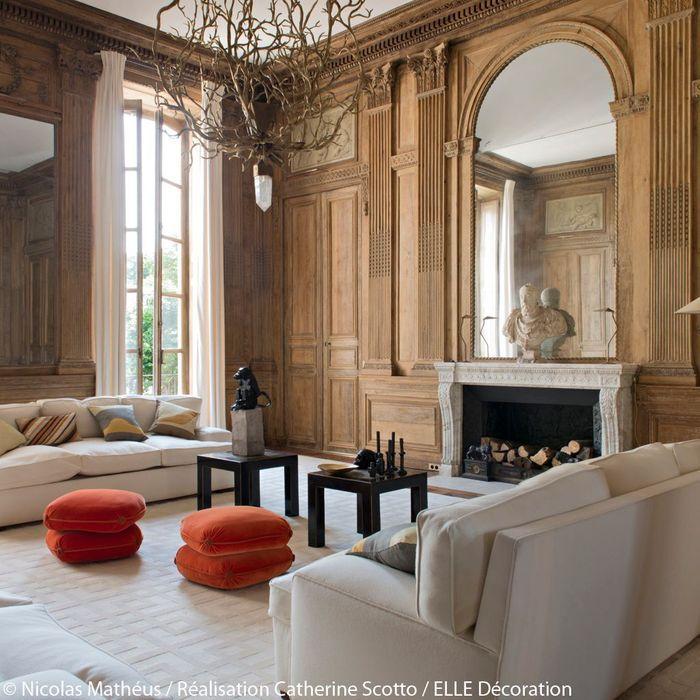 Un appartement entre esprit Grand Siècle et design des 70's