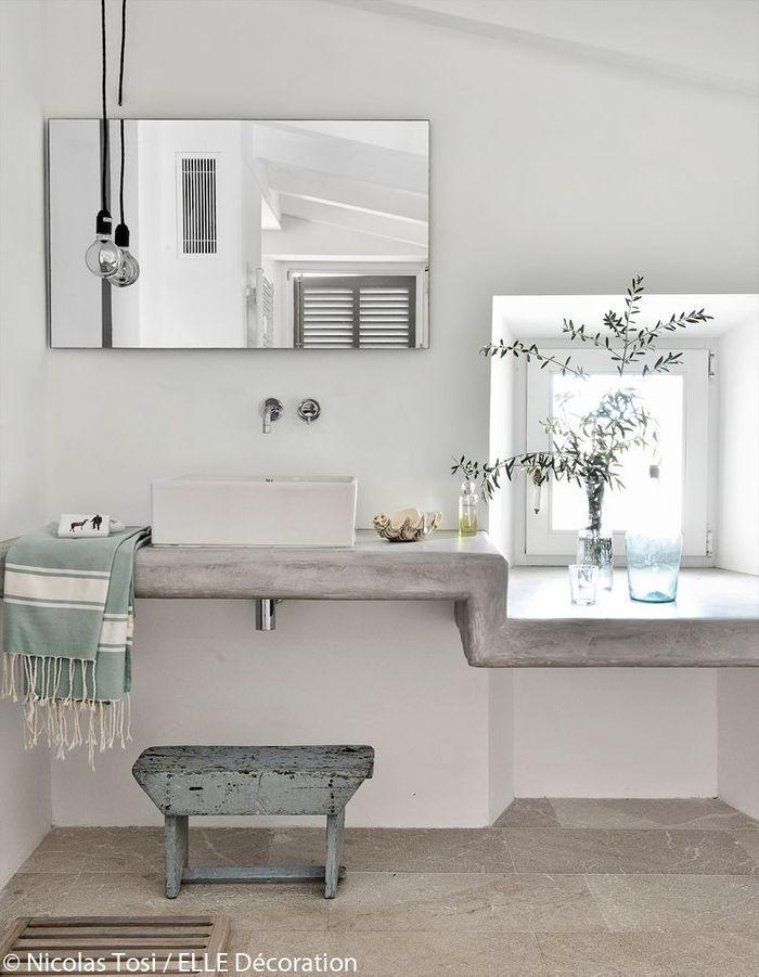 Une salle de bains authentique et tendance