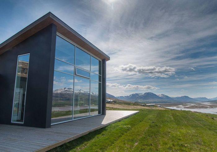 Maison ouverte sur la nature en Islande
