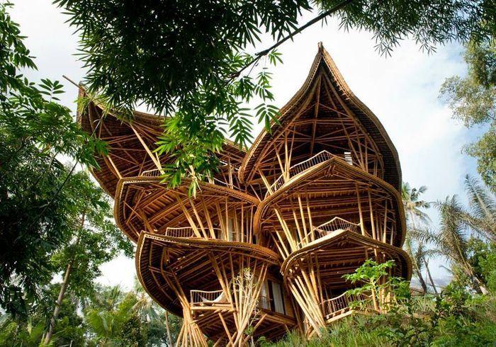 Villa traditionnelle à Bali