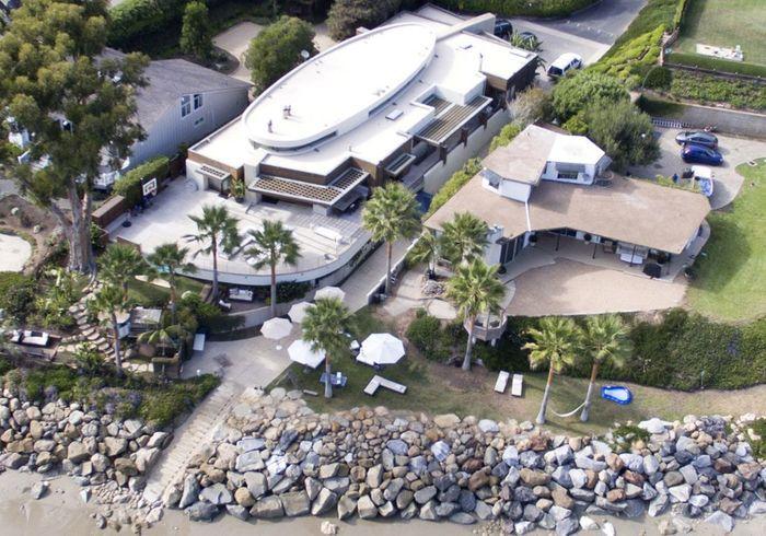 La villa de Kevin Costner (Santa Barbara, USA)