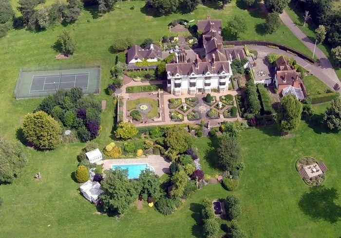 La villa de Rod Stewart (Angleterre)