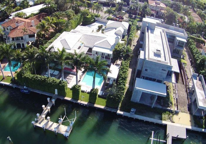 La villa de Shakira (Miami, USA)