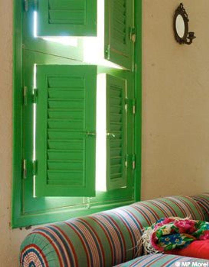 Visite priv e d 39 une maison d 39 h tes louxor elle d coration - Porte a claire voie ...