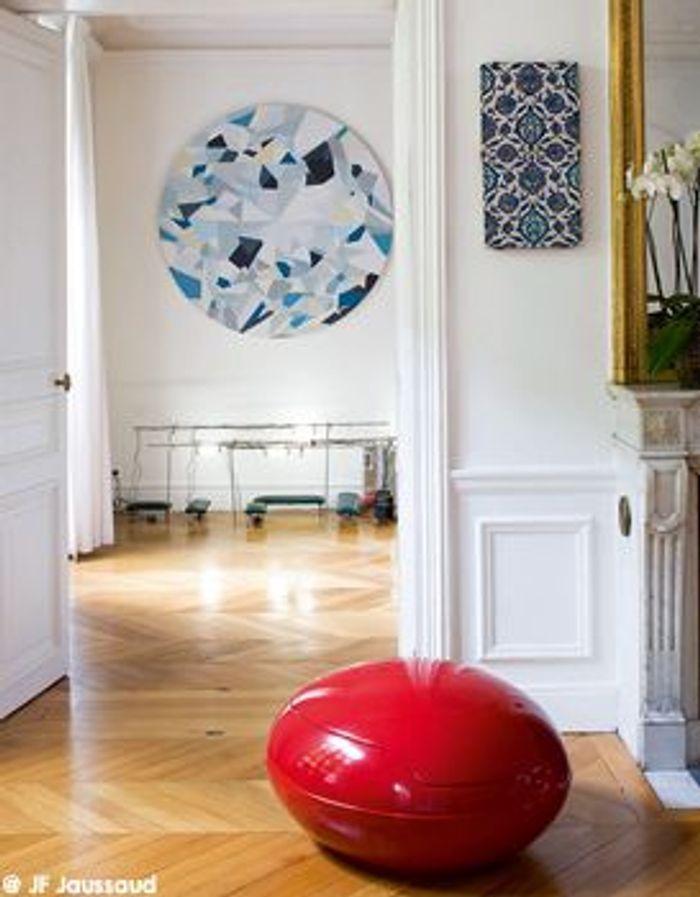 dossier tendance nadia candet l 39 art passion elle d coration. Black Bedroom Furniture Sets. Home Design Ideas