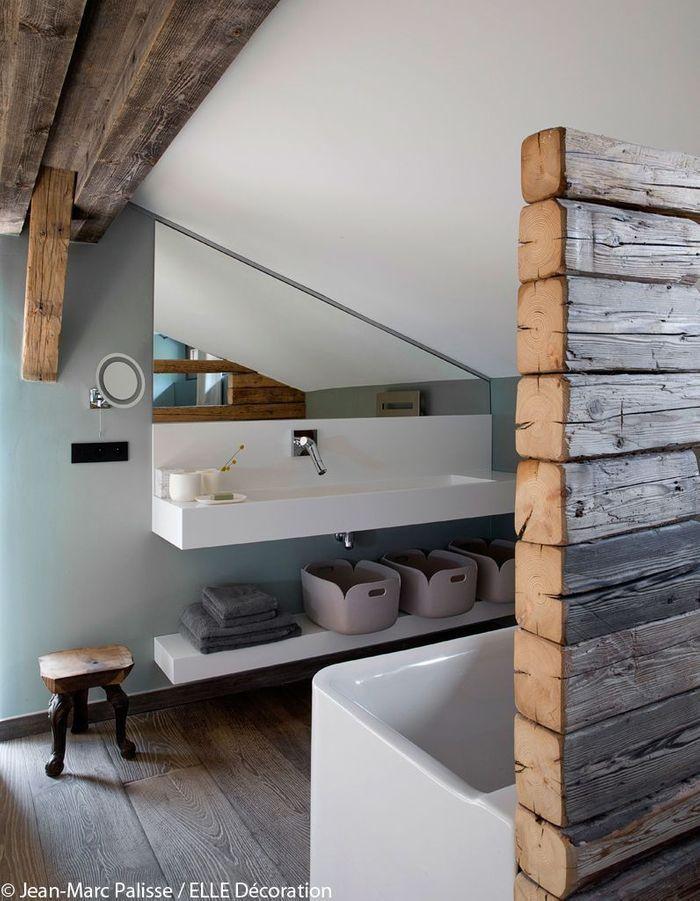 Salle de bains pastel