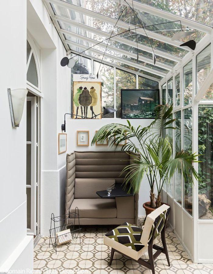 un appartement romantique entre ville et campagne elle d coration. Black Bedroom Furniture Sets. Home Design Ideas