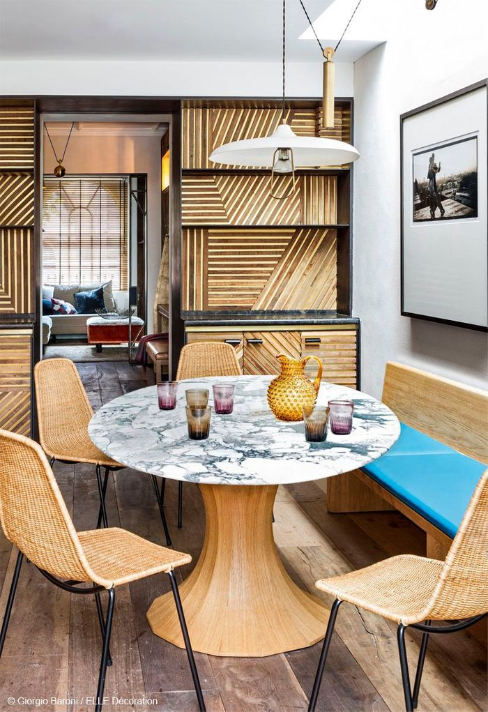 une maison en or elle d coration. Black Bedroom Furniture Sets. Home Design Ideas