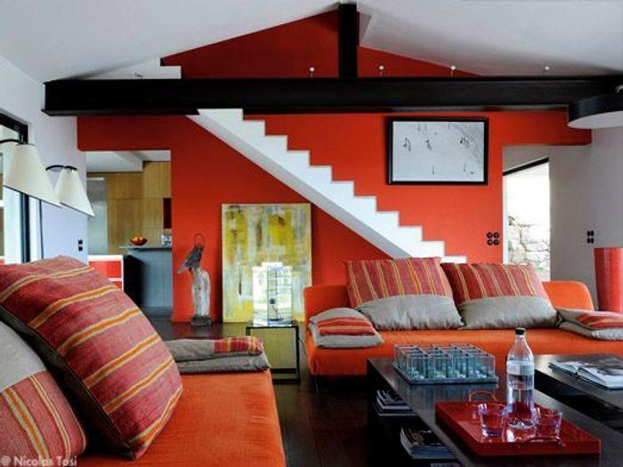 une villa en corse design avec vue elle d coration. Black Bedroom Furniture Sets. Home Design Ideas