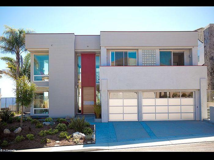 visite d une villa contemporaine en californie elle d coration. Black Bedroom Furniture Sets. Home Design Ideas