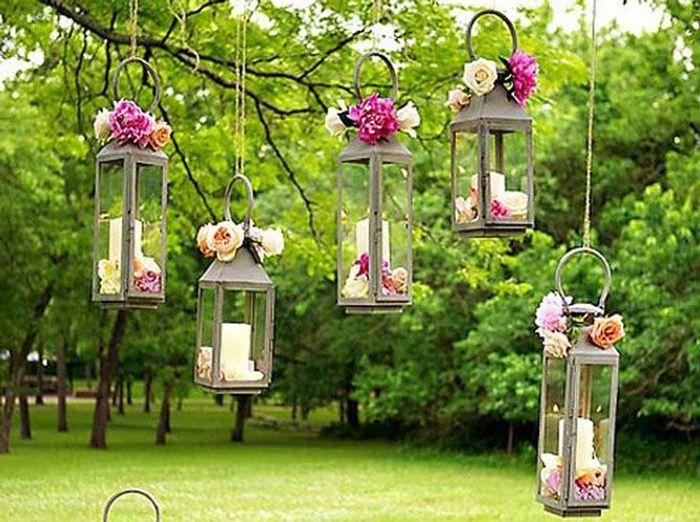 Fleurir les lanternes