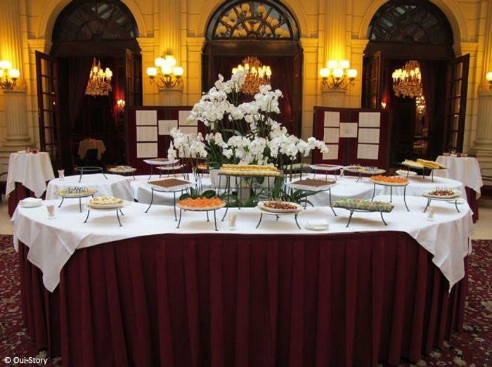 Des id es d co pour votre buffet de mariage elle d coration - Idee deco buffet mariage ...