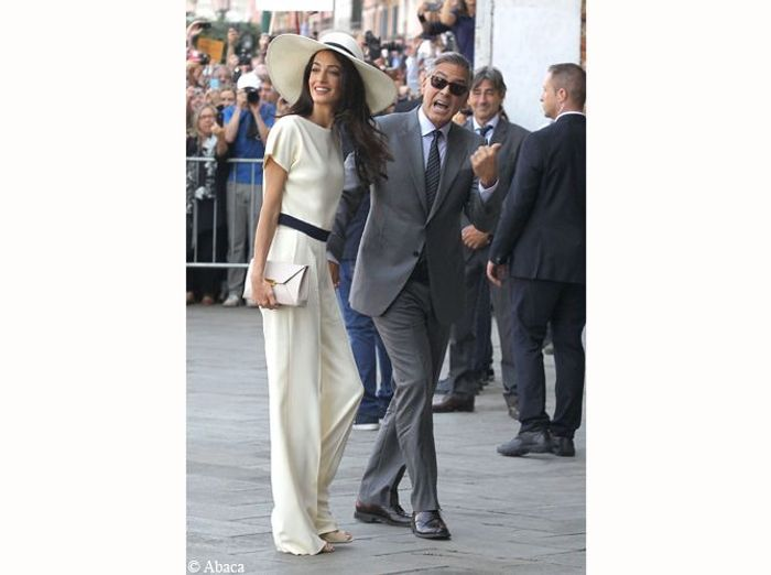 Le mariage de George Clooney etAmal Alamuddin