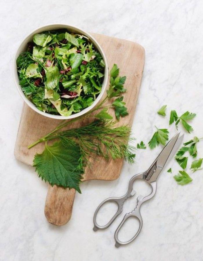 Recette minceur rapide salade d 39 herbes nos id es de - Cuisine minceur rapide ...