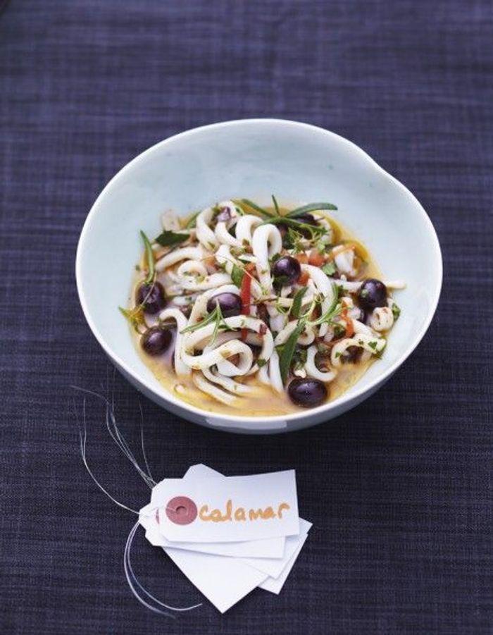 Recette minceur rapide tagliatelles de calamars nos - Cuisine minceur rapide ...
