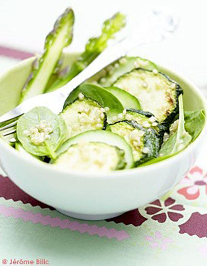 salade toute verte 20 recettes autour de l 39 asperge elle table. Black Bedroom Furniture Sets. Home Design Ideas
