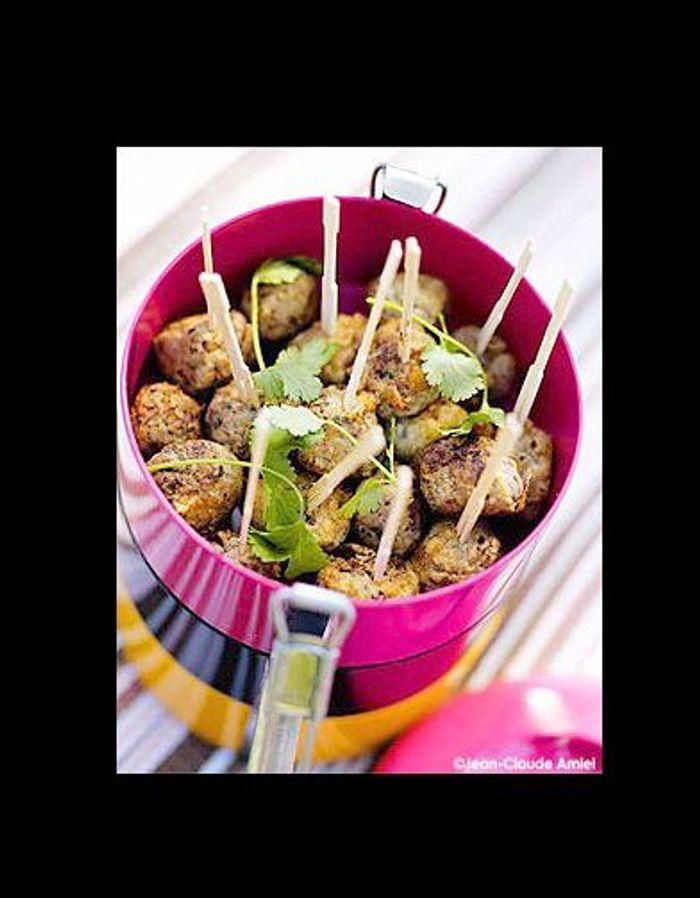 cuisine recettes pique nique boulettes a la coriandr 20 recettes hype pour mon pique nique. Black Bedroom Furniture Sets. Home Design Ideas