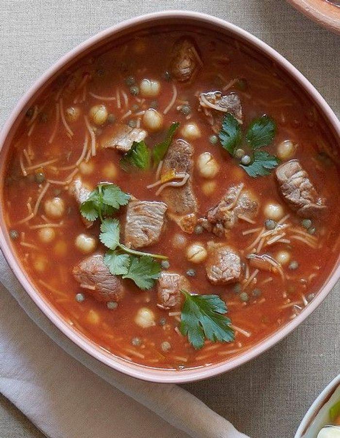 Soupe de l gumes soupe harira 55 soupes de l gumes d - Soupe de legume maison ...