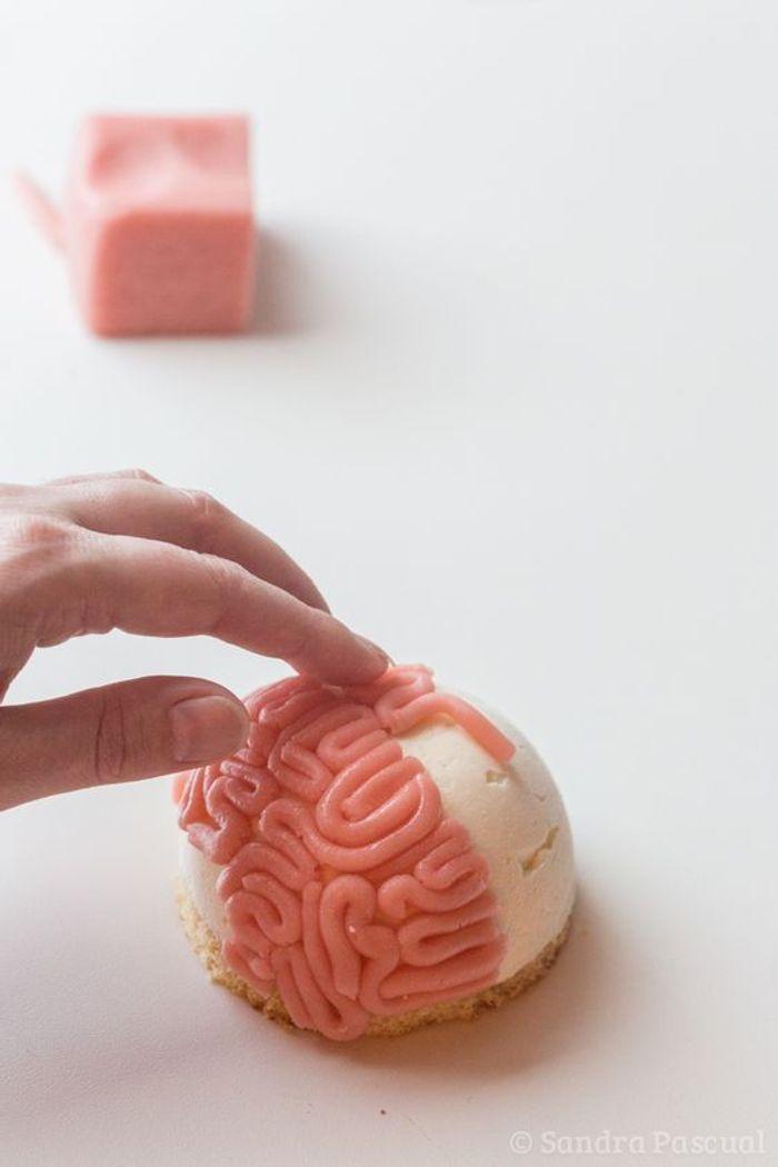 Cupcake halloween brain