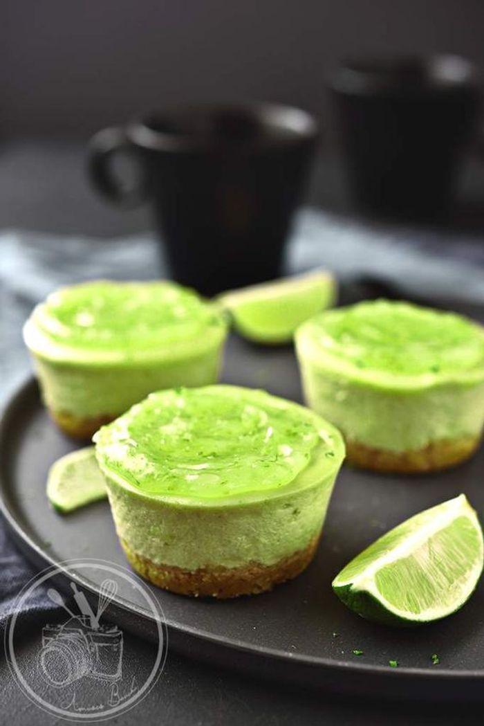 cheesecake avocat et citron vert vive les desserts l avocat elle table. Black Bedroom Furniture Sets. Home Design Ideas