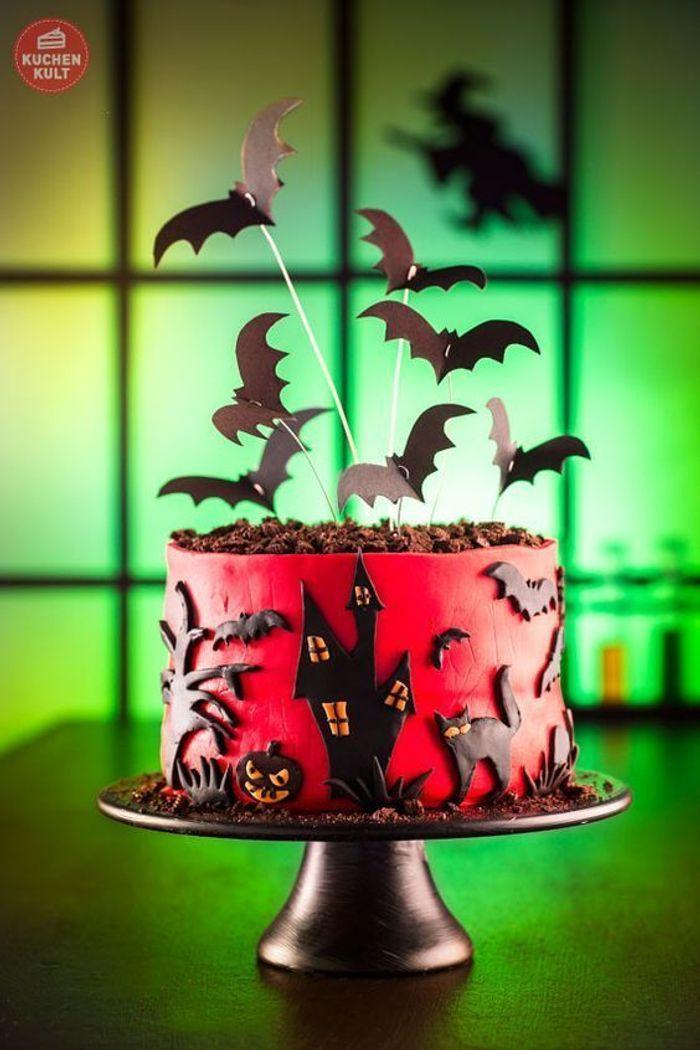 Gâteau halloween américain