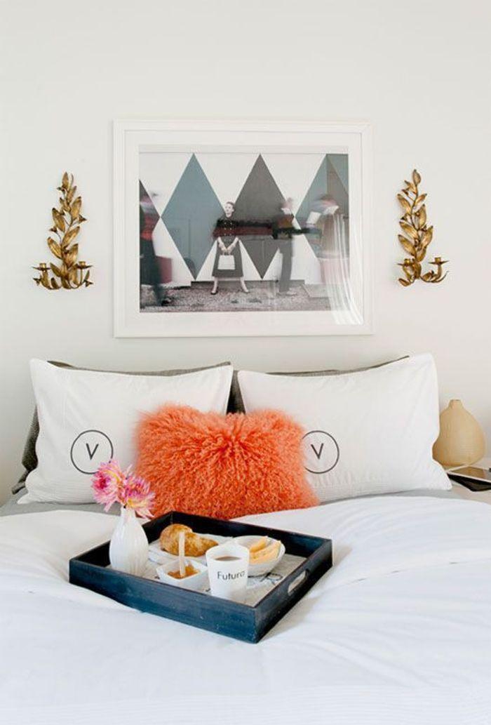 un petit d jeuner romantique au lit 10 id es de petit d jeuner romantique pour un r veil en. Black Bedroom Furniture Sets. Home Design Ideas