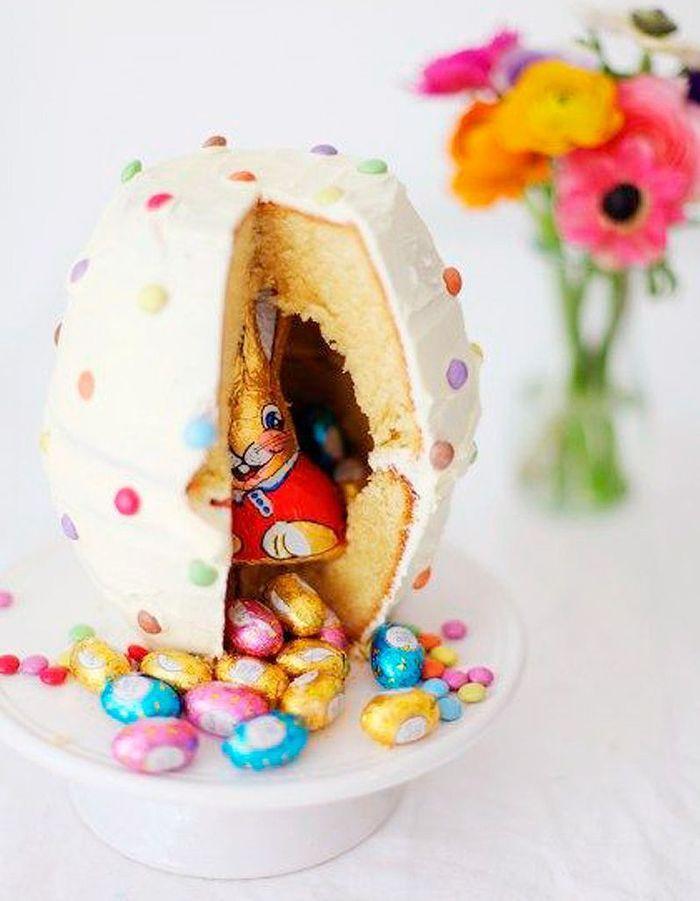 Pi Ata Cake De P Ques Pinata Cake 12 G Teaux Bluffants Rep R S Sur Pinterest Elle Table