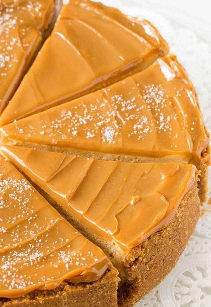 Cheesecake la confiture de lait 10 recettes la confiture de lait totalement r gressives - Recette avec confiture de lait ...