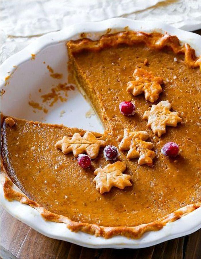 pumpkin pie la tarte la citrouille la citrouille star des desserts de thanksgiving elle. Black Bedroom Furniture Sets. Home Design Ideas