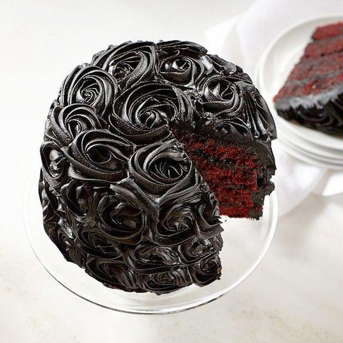 Rose cake chocolat