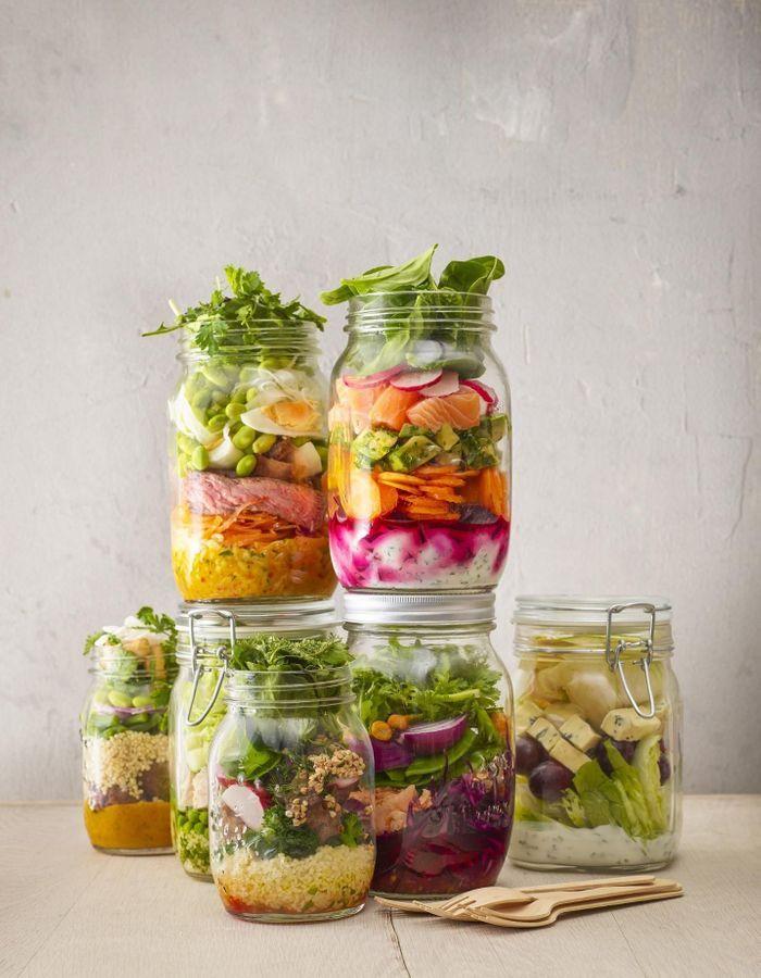 salade hiver d couvrez 11 id es de salades hivernales elle table. Black Bedroom Furniture Sets. Home Design Ideas