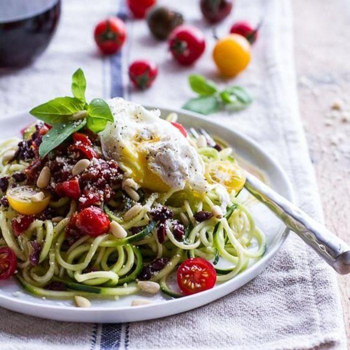 spaghettis de légumes : idées de spaghettis de légumes. - elle à table