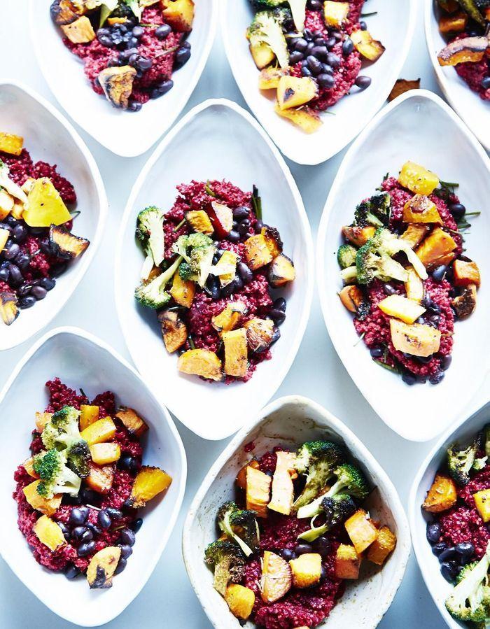 Bol de quinoa et millet aux légumes