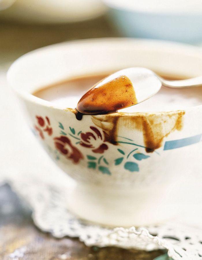 Chocolat chaud aux épices douces