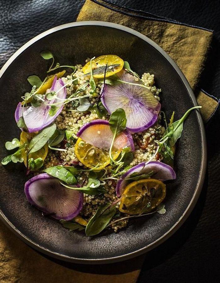 Salade de quinoa au kalamansi