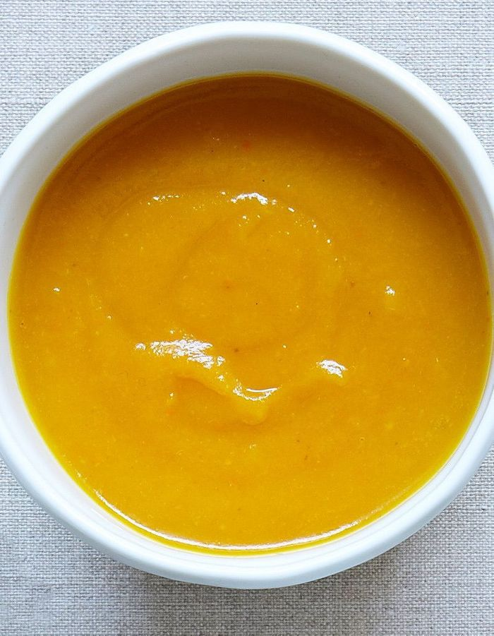 Velouté carotte vitaminée