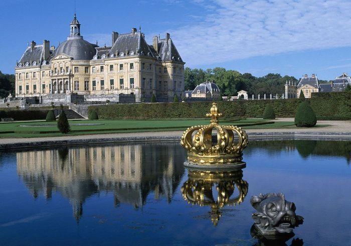 Chateau Ile De France Decoration Noel