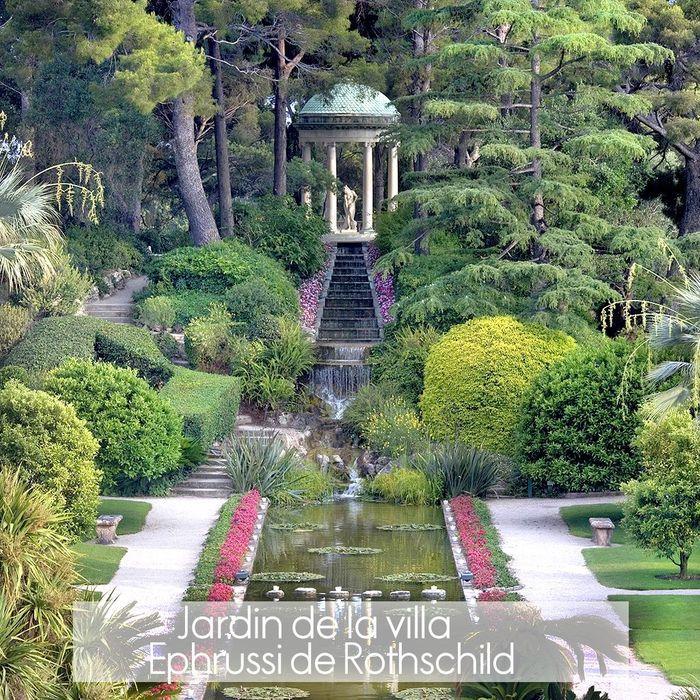 Villa jardins ephrussi de rothschild o sont les plus for Jardins de france a visiter