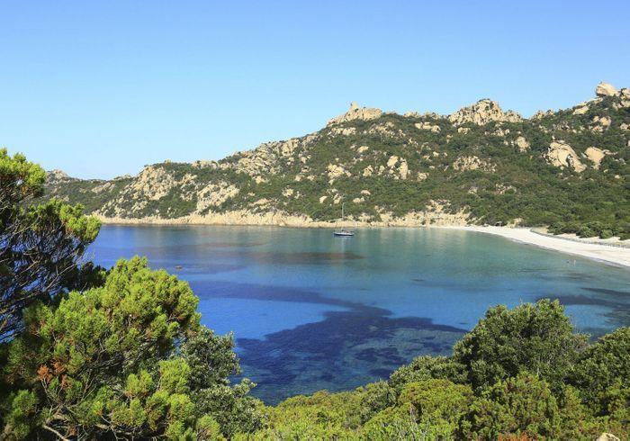 La plage Saleccia, en Corse