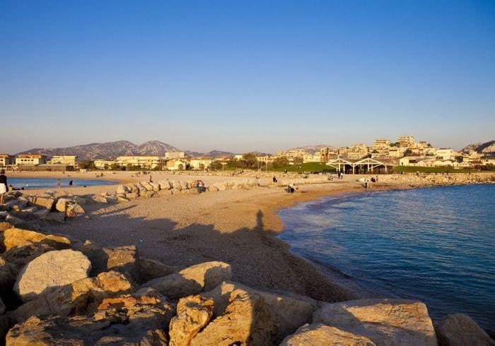 La plage du prado les plus belles plages de marseille - Cinema du prado marseille ...