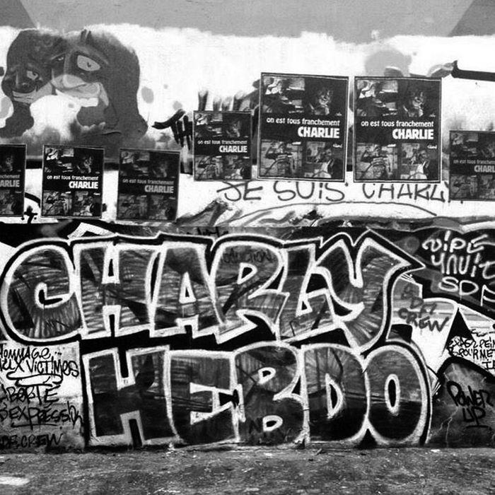 CHARLIE HEBDO - Magazine cover