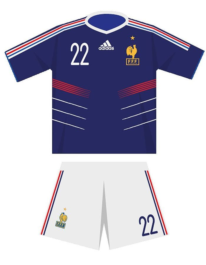 Le maillot de l quipe de france de football en 2010 for Maillot exterieur xv de france