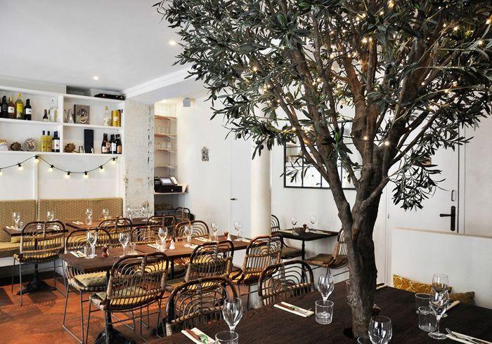 paris 11e la cicciolina restaurants romantiques nos adresses pr f r es en france elle. Black Bedroom Furniture Sets. Home Design Ideas