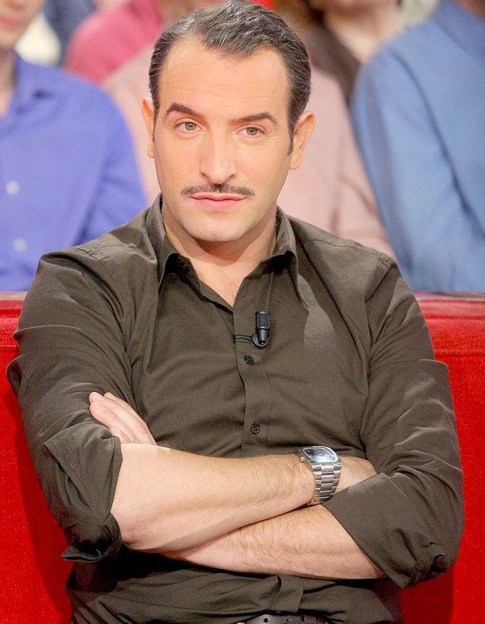 Jean dujardin barbe ou moustache comment les pr f rez for Livre jean dujardin