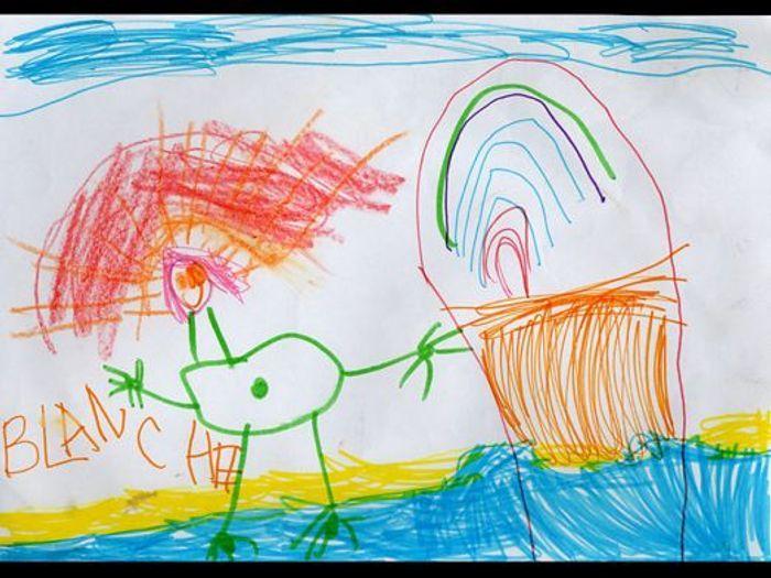 Blanche 4 ans que r v lent les dessins de nos enfants - Dessin de psy ...