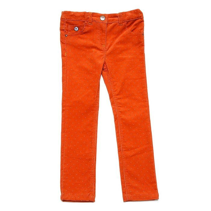 18 Pantalon en velours orange, Sergent Major