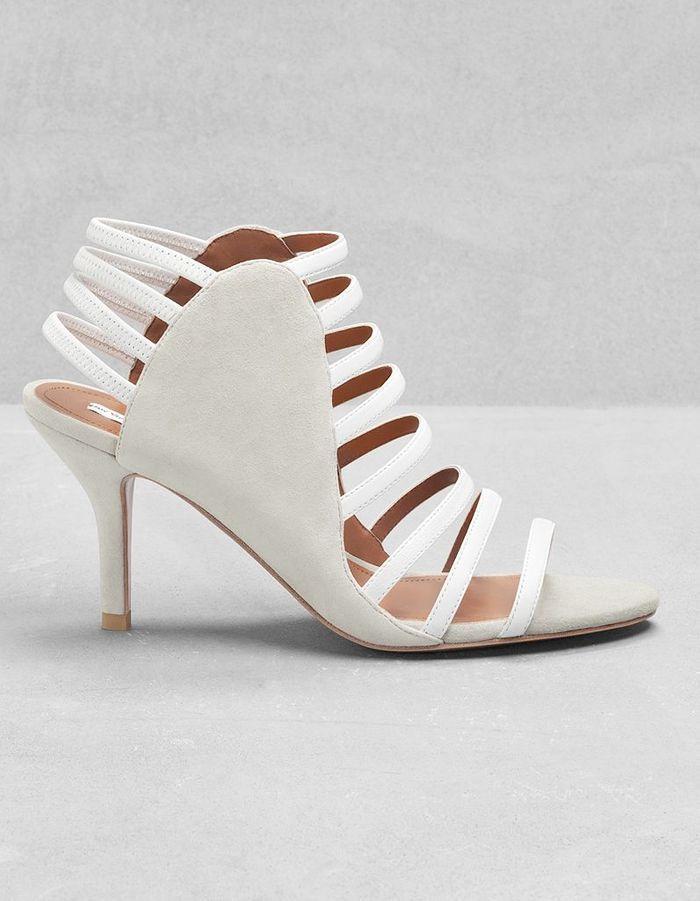 sandales multi brides en cuir other stories printemps t 2015 40 chaussures de mari e. Black Bedroom Furniture Sets. Home Design Ideas
